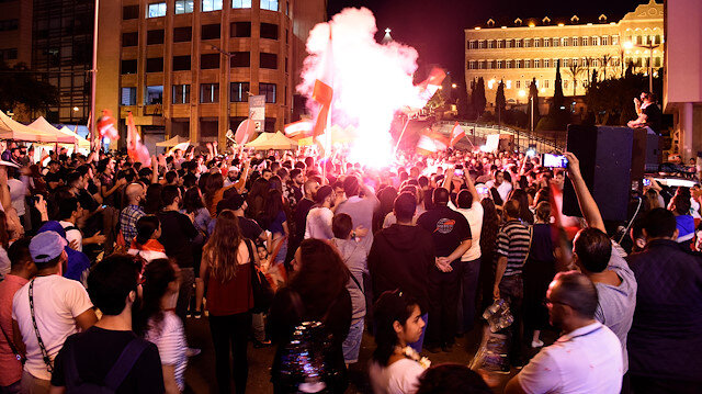 Resurrection: Ertuğrul becomes a part of Lebanon protests