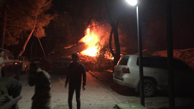 Şanlıurfa'daki 20. Zırhlı Tugay Komutanlığında patlama
