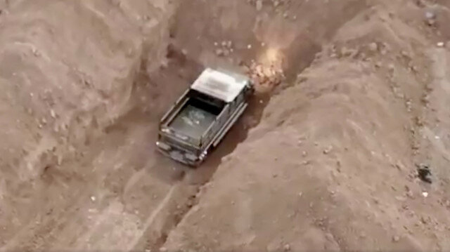 Tel Abyad'da terör örgütü PKK/YPG'nin sivillere yönelik bombalı araç saldırısı son anda önlendi