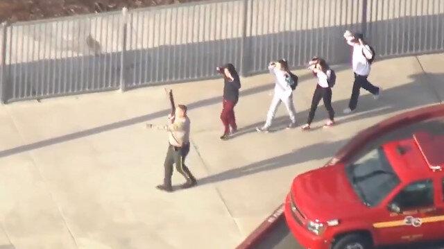 ABD'de okula silahlı saldırı: 7 yaralı