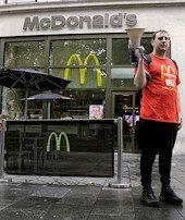 6 şubede çalışanlar greve gitti