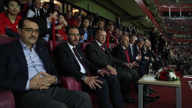 Cumhurbaşkanı Erdoğan: Çok genç ve dinamik bir takımımız var