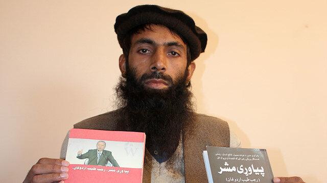 Afgan yazar Erdoğan hakkında kitap yazınca ilinde meşhur oldu