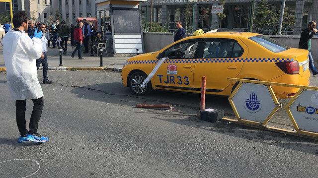 İstanbul Pendik'te taksici aracına binen yolcu tarafından silahla yaralandı