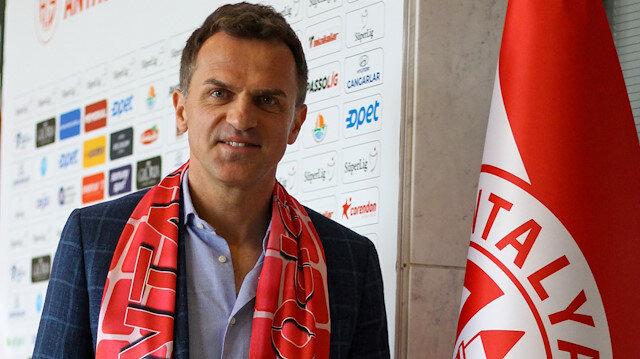 Antalyaspor'un yeni hocası Tomas oldu