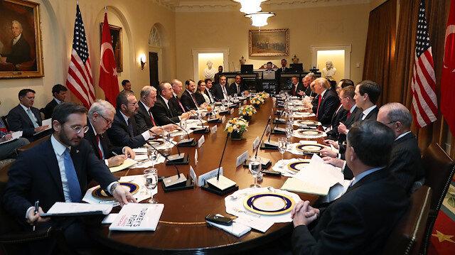 Erdoğan-Trump görüşmesinde dikkati çeken kitapçığın içeriği belli oldu