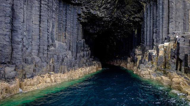 İskoçyanın en çok merak edilen bölgesi: Fingal Mağarası