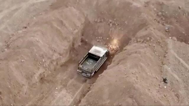 القوات التركية تضبط سيارة مفخخة في تل أبيض السورية