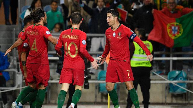 Portekiz'den asker selamı paylaşımı: UEFA bakalım ne diyecek?