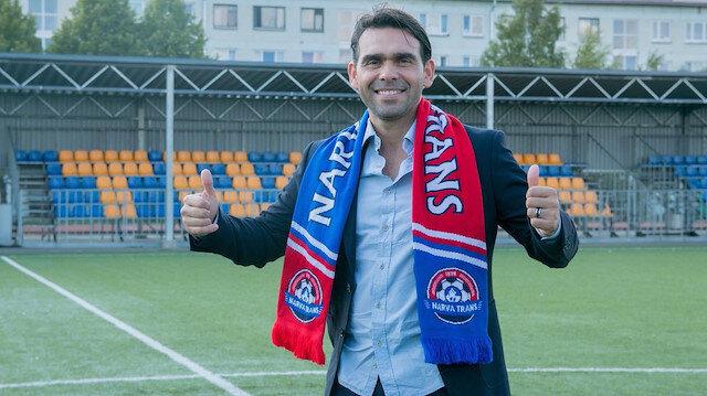 Teknik direktör Cenk Özcan yeniden Estonya Ligi'nde