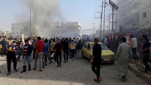 Bomb attack kills 10 in northern Syria