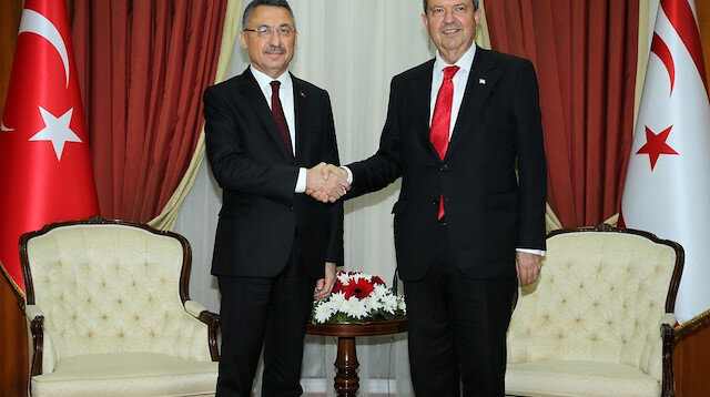 أوقطاي يؤكد على وحدة الشعبين في تركيا وقبرص التركية