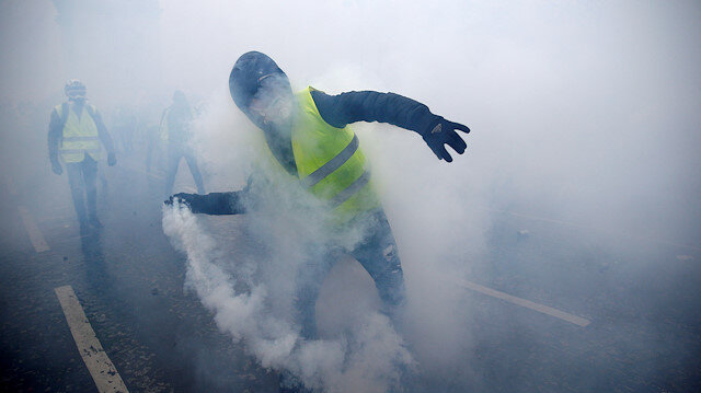 Yellow Vest protests in France mark 1st anniversary