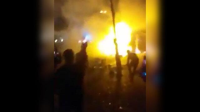 Tahrir Meydanı'nda bombalı saldırı: Ölü ve yaralılar var