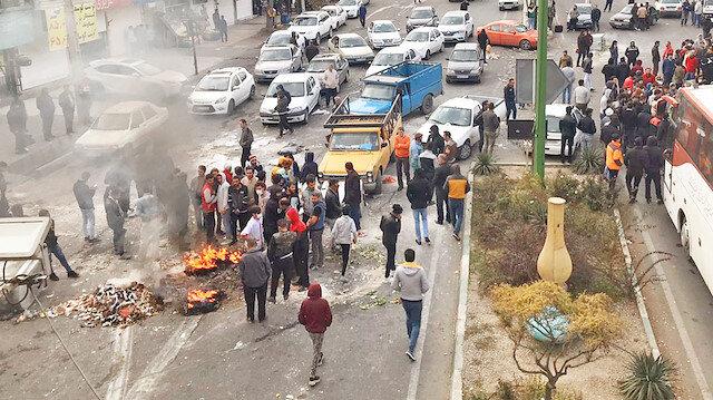 Benzin zammı İran'ı yaktı