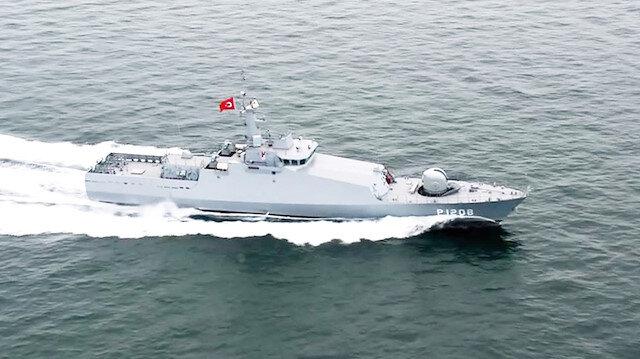 Libya'ya gemi desteği