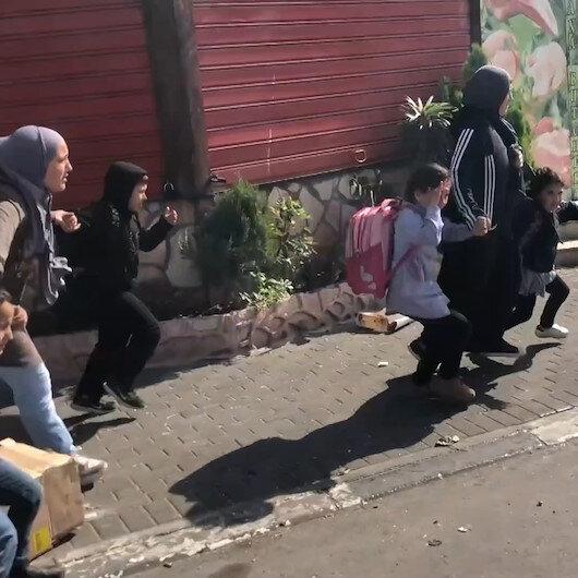 İşgalci İsrail kuvvetlerinden acımasız müdahale