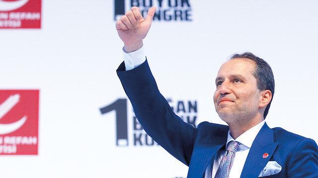 Erbakan genel başkan seçildi