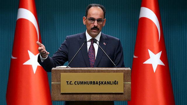 Sözcü Kalın'dan kabine sonrası açıklama: Erdoğan'ın katılımıyla Londra'da dörtlü zirve