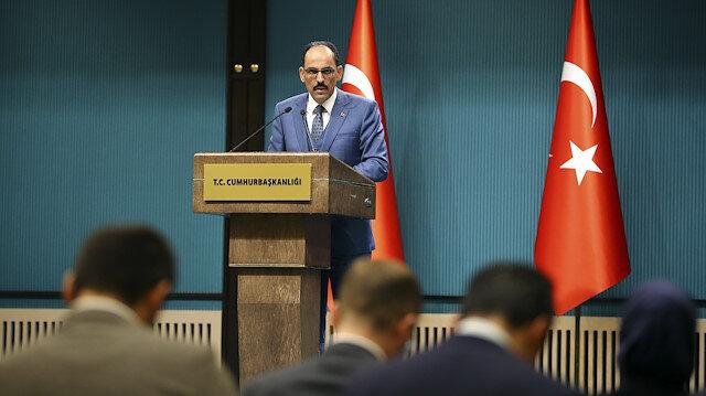Cumhurbaşkanlığı Sözcüsü İbrahim Kalın:  Siyanür kullanılarak yapılan eylem toplu intihar değil cinayettir