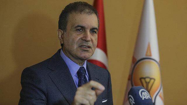 AK Parti Sözcüsü Ömer Çelik: Bunlar susturun diye başlarlar, haddini bildirin diye devam ederler