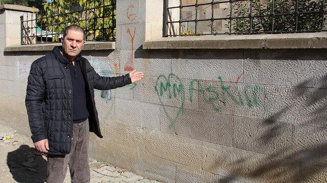 Aşklarını şehitlik duvarına yazanlara tepki: Bunların tedavi edilerek topluma kazandırılmasını istiyoruz