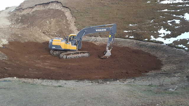 Kazı çalışmalarından sonra gölün durumu