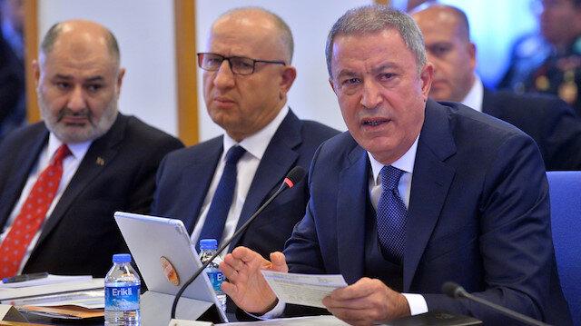Milli Savunma Bakanı Akar: 145 km uzunluğunda 30 km derinlikte güvenli bölge sağlandı