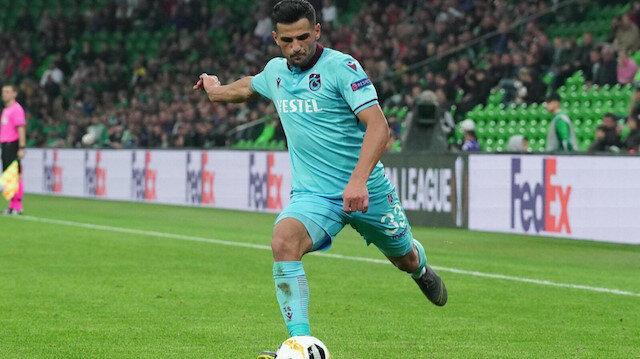Genç oyuncu, bu sezon bordo-mavili formayla 90 dakika süre aldı.