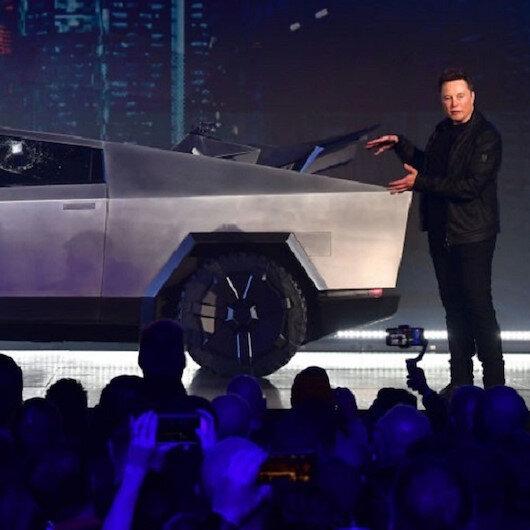 Tesla's cybertruck launch takes hit as 'shatterproof' windows crack