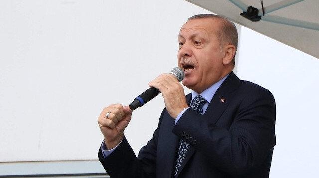 Cumhurbaşkanı Erdoğan İzmir'de müjdeyi verdi: Tarıma dayalı sanayi bölgesi kurulacak