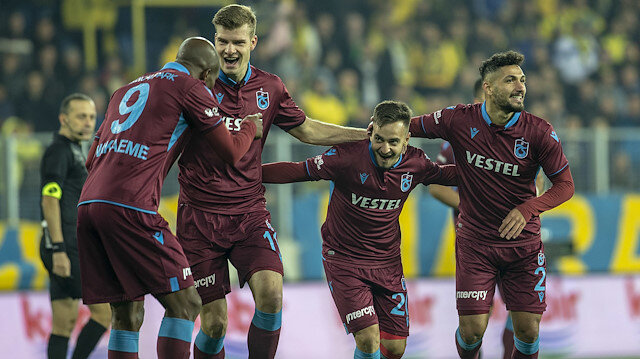 Ankaragücü-Trabzonspor: 0-3