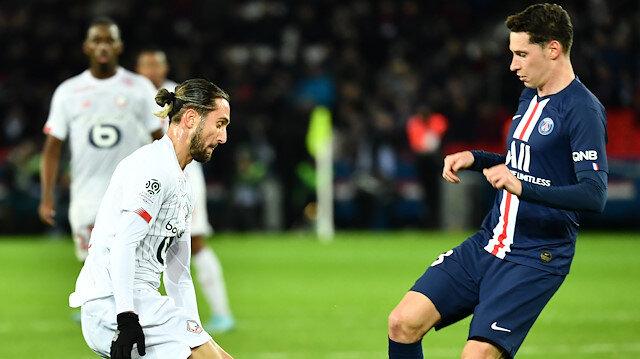 Zeki ve Yusuf'lu Lille PSG'ye mağlup oldu