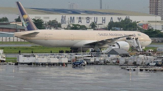 لأول مرة منذ الازمة....هبوط طيران سعودي في قطر وهذا السبب