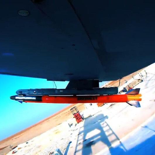 Milli füze Bozdoğan, ilk güdümlü atış testini başarıyla tamamladı