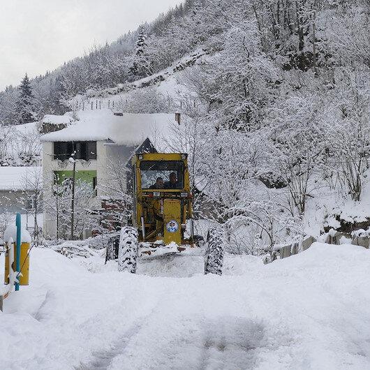 Meteoroloji'den kar ve sağanak uyarısı: Yüksek kesimlerde kar bekleniyor