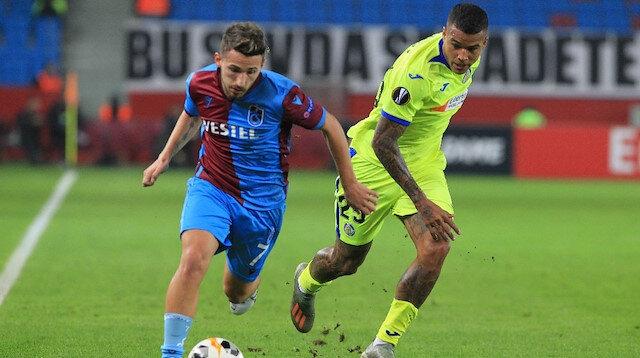 Trabzonspor, Getafe maçına yedek ağırlıklı bir kadro ile çıktı.
