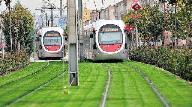 3 şehrin rayına 150 milyon avro