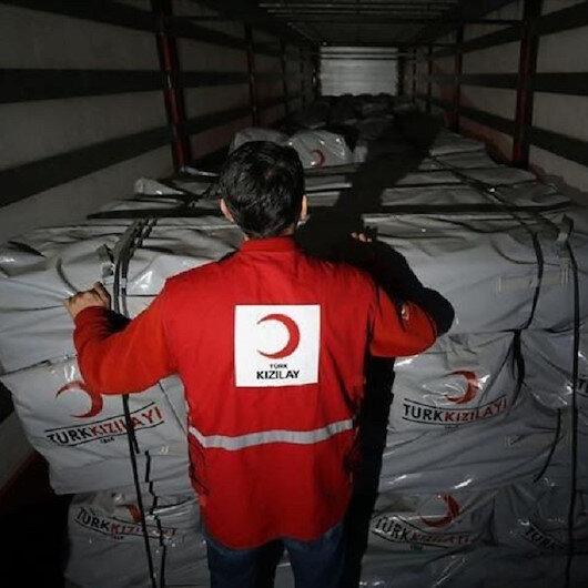 الهلال الأحمر التركي يطلق حملة تبرعات لضحايا زلزال ألبانيا