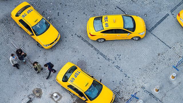 İcradan satılık taksi plakası