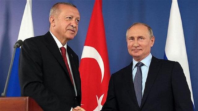 File photo: Erdoğan- Putin meeting