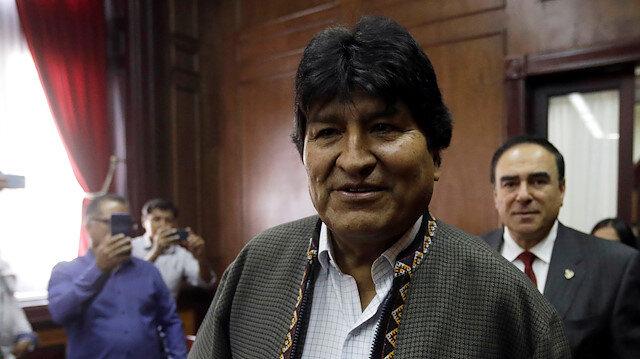 Bolivia's former President Evo Morales