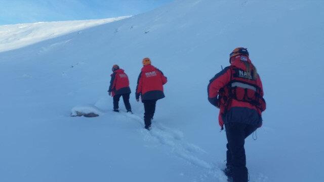 İçişleri Bakanlığı: Kayıp iki dağcıyı arama çalışmaları devam ediyor