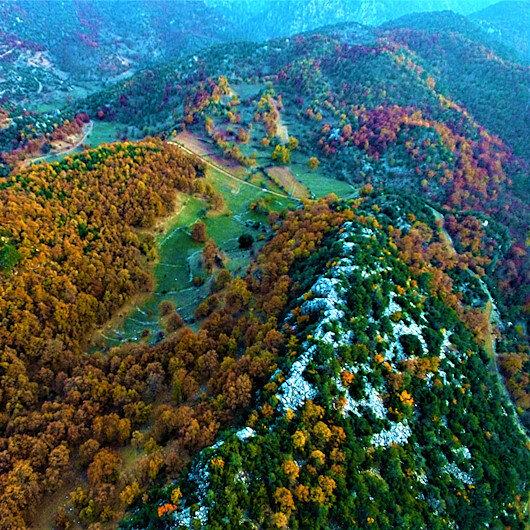 """""""أخدود قرانلق دره"""".. متنزه تركي يرتدي ألوان الخريف"""