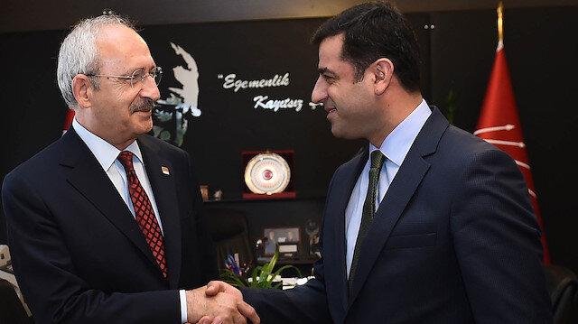 CHP heyeti Selahattin Demirtaş'ı cezaevinde ziyarete gitti