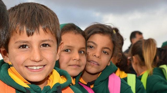 Türkiye'nin onardığı okulun öğrencilerinden teşekkür: Okulumuz eskisinden daha iyi oldu