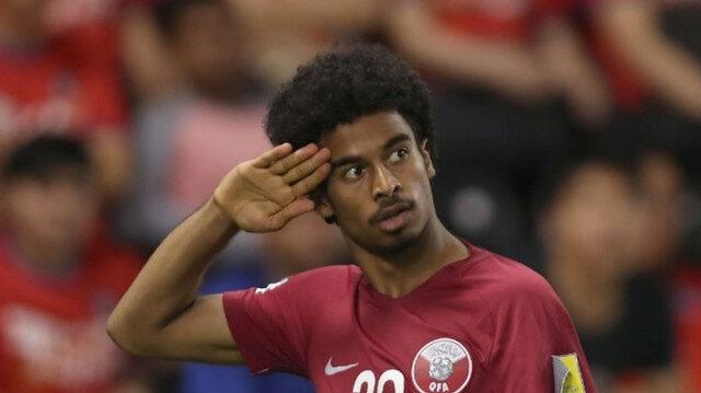 Katarlı futbolcudan asker selamı