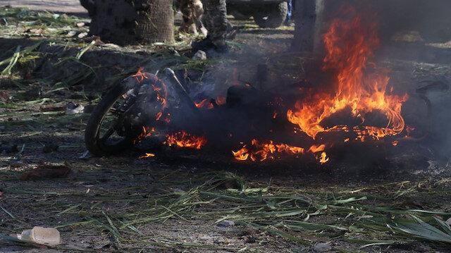 Rasulayn'da YPG/PKK'dan bombalı saldırı: 2 sivil öldü