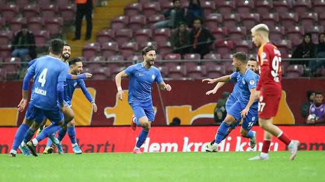 Galatasaray-Tuzlaspor: 0-2