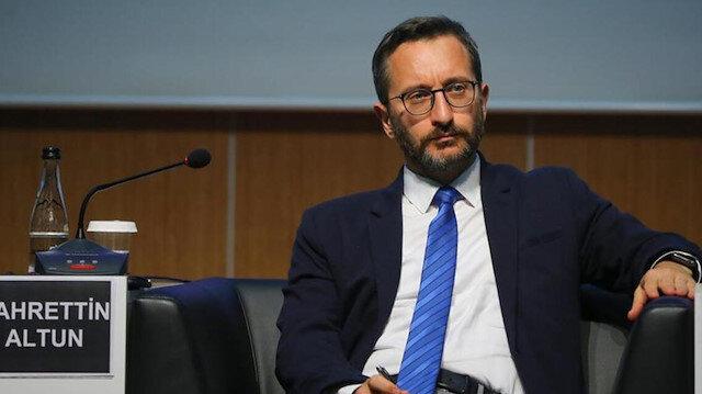 İletişim Başkanı Fahrettin Altun: Türkiye'nin sınırları, NATO'nun sınırlarıdır